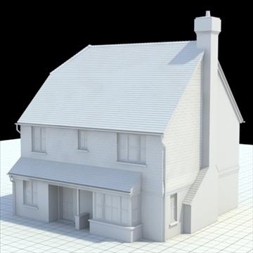 маш дэлгэрэнгүй англи байшин 3 3d загвар 3ds lwo lxo obj 100096 холих