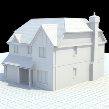 маш дэлгэрэнгүй англи байшин 6 3d загвар 3ds lwo lxo obj 100151 холих