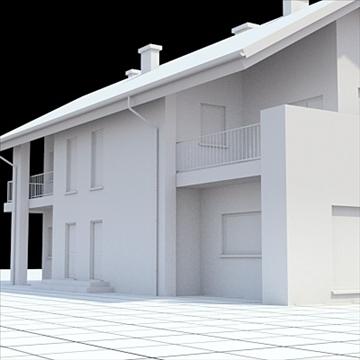 highly detailed single family house 14 3d model lwo lxo obj 104304