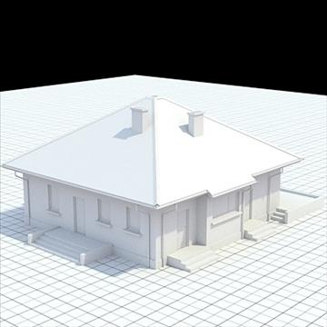 маш дэлгэрэнгүй нэг гэр бүлийн байшин 18 3d загвар lwo lxo obj 105240