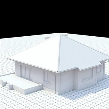 highly detailed single family house 18 3d model lwo lxo obj 105242