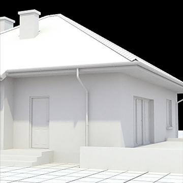 highly detailed single family house 18 3d model lwo lxo obj 105244