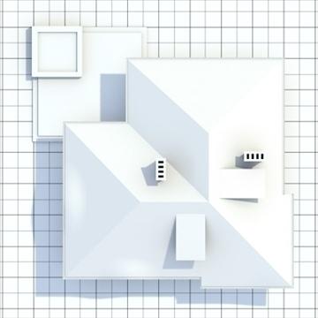 highly detailed single family house 8 3d model blend lwo lxo obj 102690