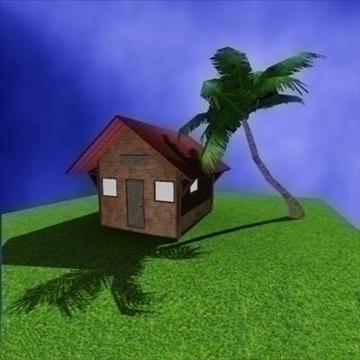 house 3d model obj 86946