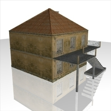 house1 3d model 3ds obj 99139