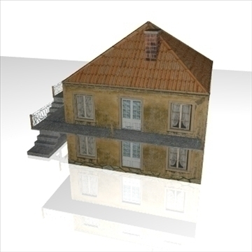 house1 3d model 3ds obj 99140