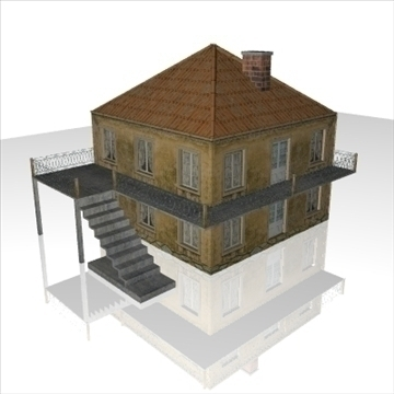 house1 3d model 3ds obj 99141