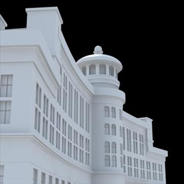 luxury hotel 3d model blend lwo lxo obj 100198