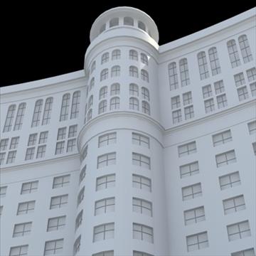 luxury hotel 3d model blend lwo lxo obj 100199
