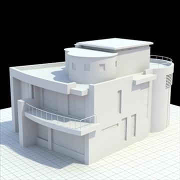 luxury house 3d model 3ds blend lwo lxo obj 111035