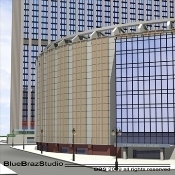madison square garden 2 3d model 3ds dxf c4d obj 97139