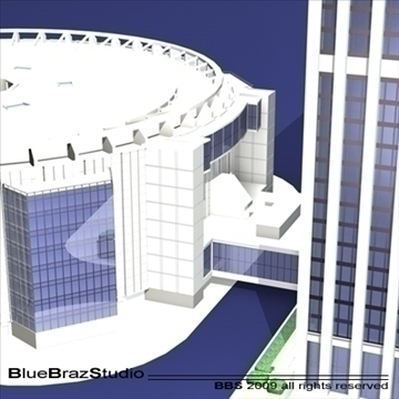 madison square garden 3d model 3ds dxf c4d obj 97102