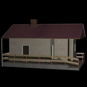 new house 1 3d model 3ds 97530