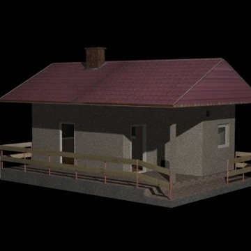 new house 1 3d model 3ds 97531