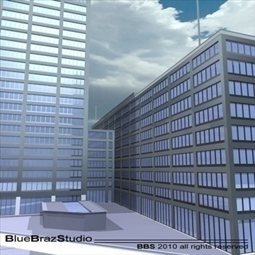 new scotland yard 3d model 3ds dxf c4d obj 102612