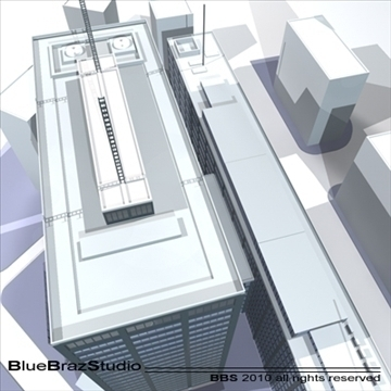 new scotland yard 3d model 3ds dxf c4d obj 102613