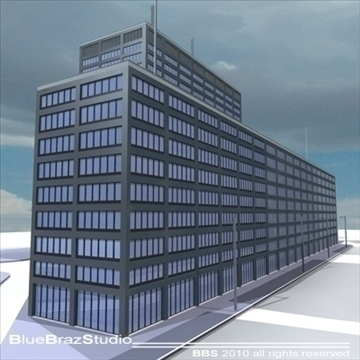new scotland yard 3d model 3ds dxf c4d obj 102614