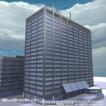 new scotland yard 3d model 3ds dxf c4d obj 102615