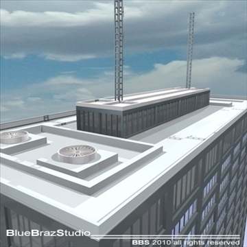 new scotland yard 3d model 3ds dxf c4d obj 102616