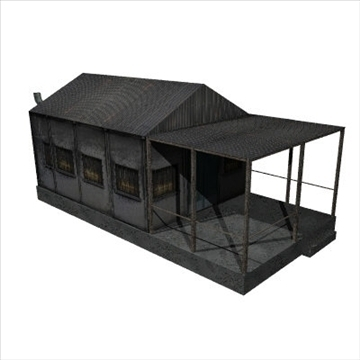 old house 3d model 3ds 97541