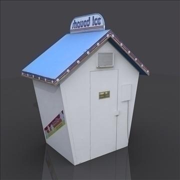 sno shack 3d model max 81761