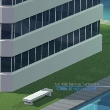 stilizedcity-building1 3d model 3ds dxf obj digər 78574