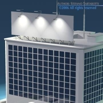 stilizedcity-building2 3d líkan 3ds dxf obj önnur 78578