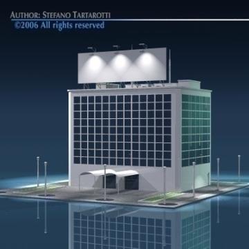 stilizedcity-building2 3d líkan 3ds dxf obj önnur 78580