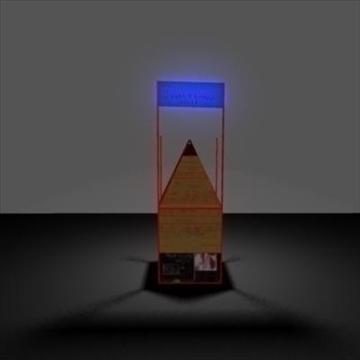 torture shack 3d model ma mb 106558