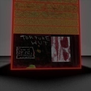 tortura koliba 3d model ma mb 106560
