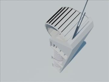 tower building 1 3d model max 93087