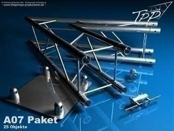 tpp 1 truss fd 24 package 3d model 3ds dxf fbx c4d x obj 107251