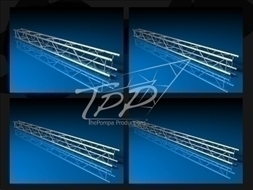 tpp 1 truss fd 24 package 3d model 3ds dxf fbx c4d x obj 107254