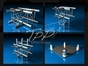 tpp 1 truss fd 24 package 3d model 3ds dxf fbx c4d x obj 107257