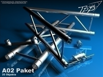 tpp 1 truss fd 32 package 3d model 3ds dxf fbx c4d x obj 107213