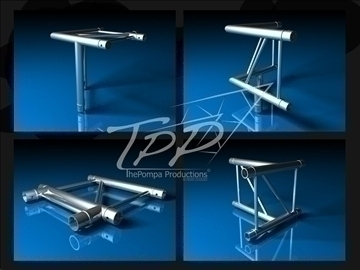 tpp 1 truss fd 42 package 3d model 3ds dxf fbx c4d x obj 107228