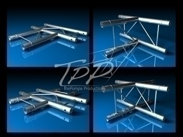 tpp 1 truss package complete 3d model 3ds dxf fbx c4d x obj 107239