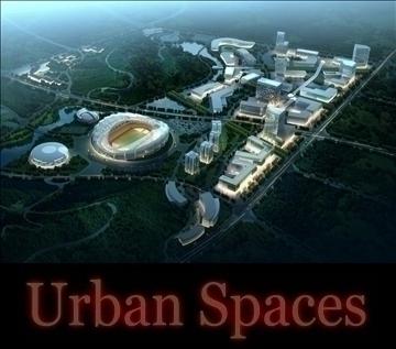 urbani dizajn 076 3d model 3ds max psd 92862