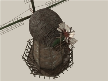 windmill v1 3d model 3ds max jpeg jpg lwo obj 80663