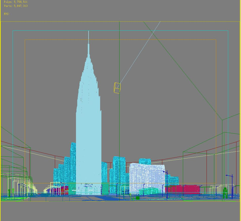 3D   Building Cityscape 101 ( 176.48KB jpg by kanhtart )