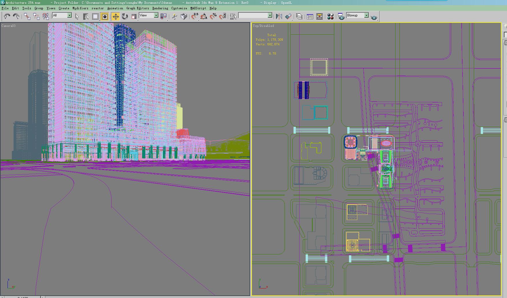 architektúra 254 3d modell 3ds max 143897