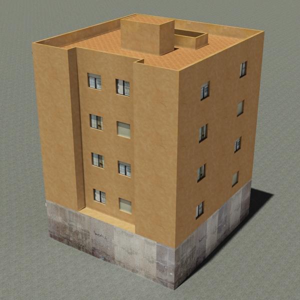 ēkas 100 divi 3d modeļa 3ds max fbx tekstūra obj 157823