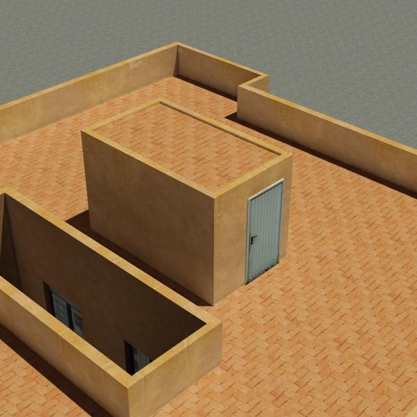 ēkas 100 divi 3d modeļa 3ds max fbx tekstūra obj 157828
