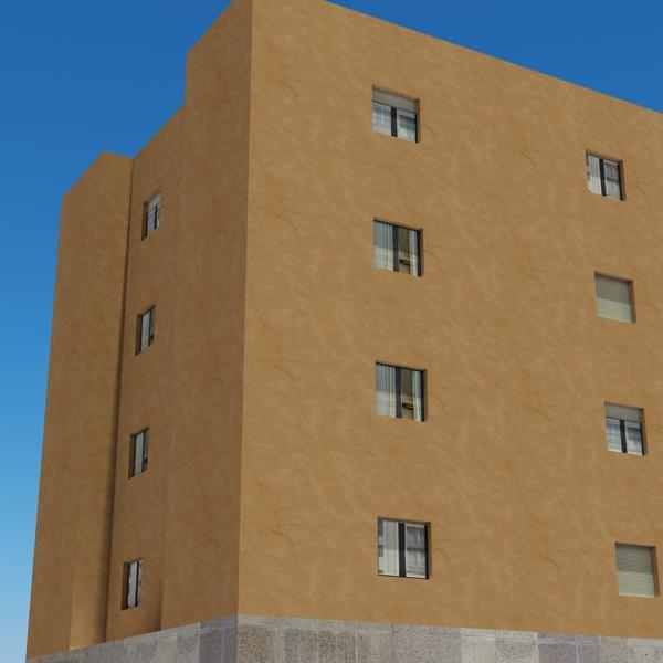 ēkas 100 divi 3d modeļa 3ds max fbx tekstūra obj 157829