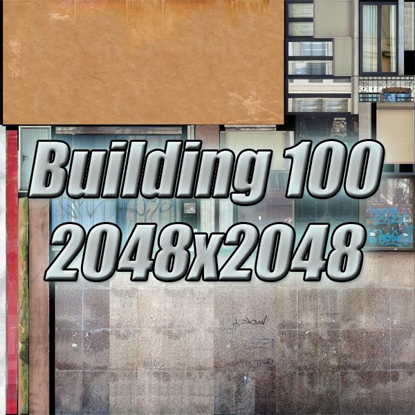 ēkas 100 divi 3d modeļa 3ds max fbx tekstūra obj 157832