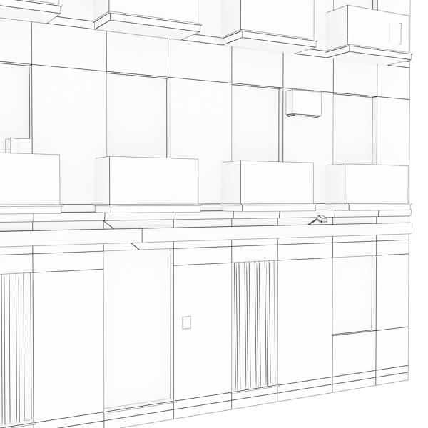 ēkas 100 divi 3d modeļa 3ds max fbx tekstūra obj 157835