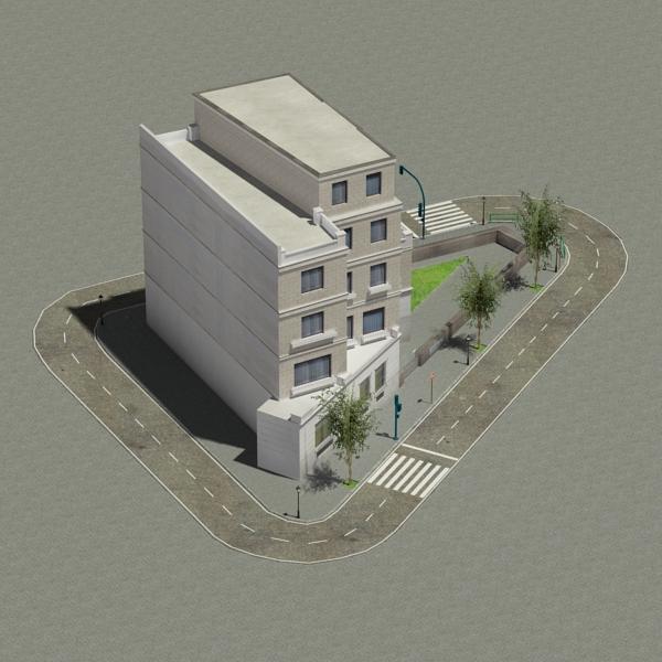 zgrada 25 3d model 3ds max fbx tekstura obj 150740