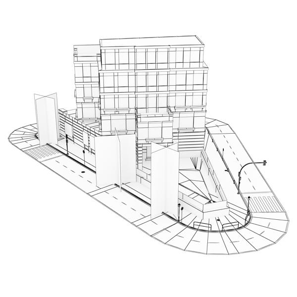 zgrada 25 3d model 3ds max fbx tekstura obj 150749