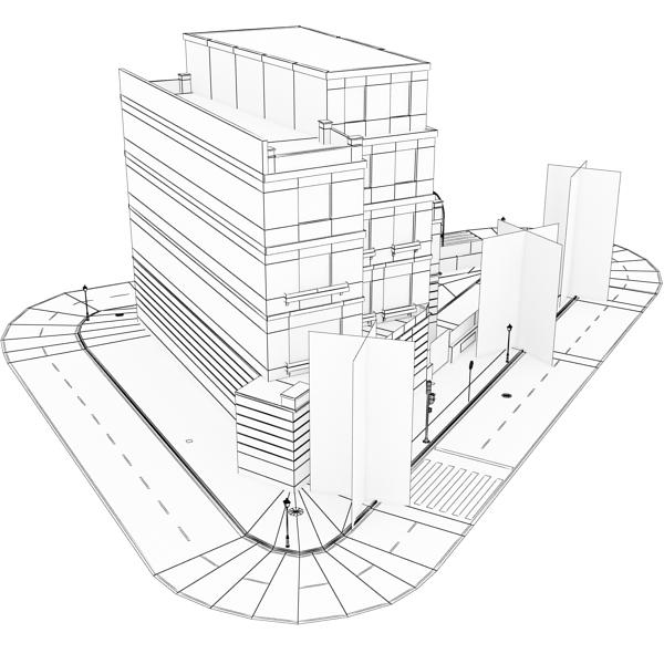zgrada 25 3d model 3ds max fbx tekstura obj 150750