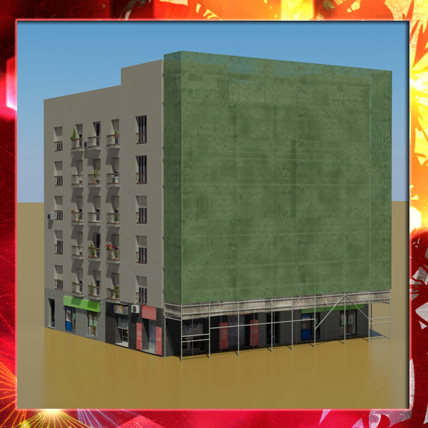 building 27 3d model 3ds max fbx texture obj 150994